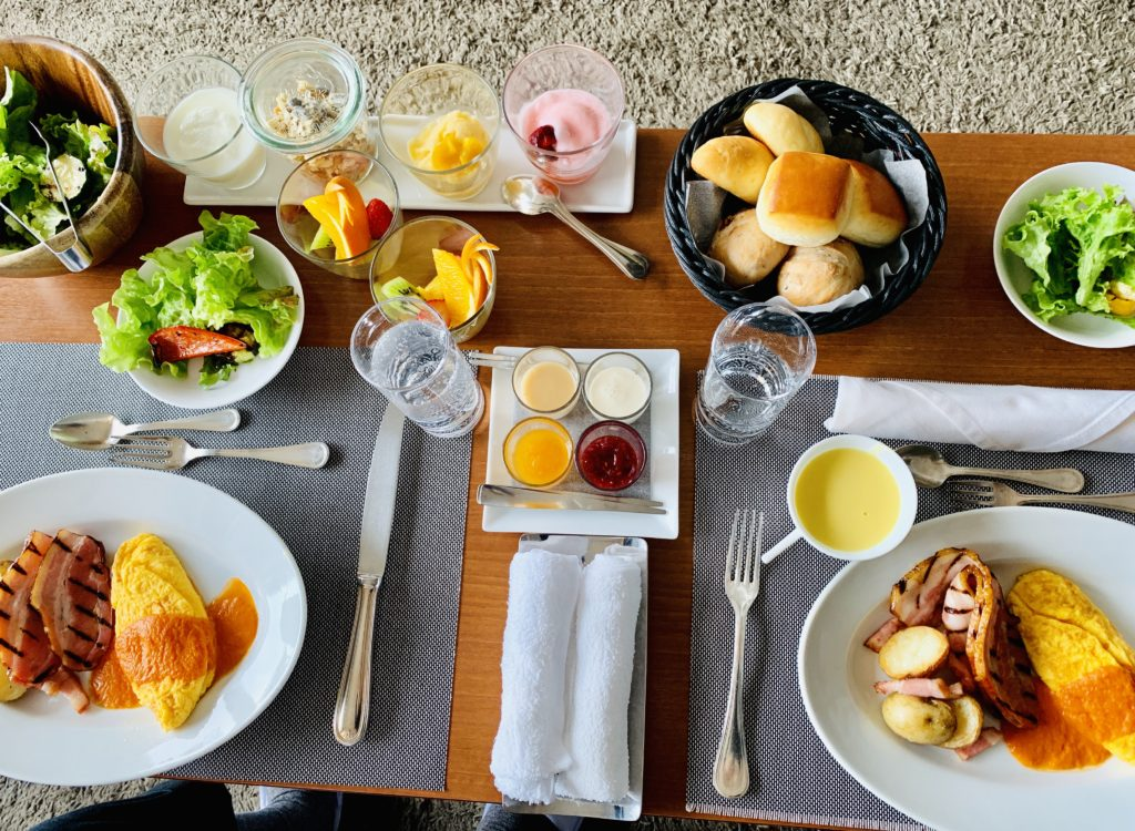 スケープスザスイート  朝食