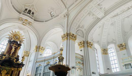 ハンブルクの聖ミヒャエル教会で強風にあおられながら街を一望する【ドイツ#21】