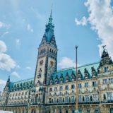 ハンブルク市庁舎付近の優雅でレイジーな時間【ドイツ#22】