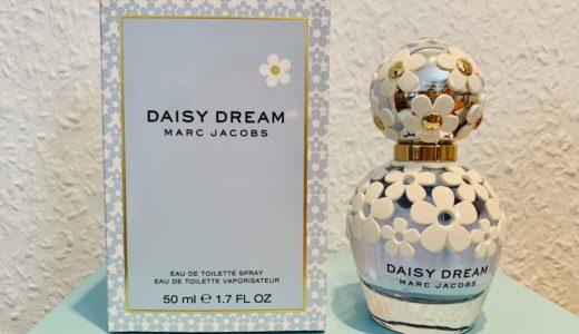 【香水】マークジェイコブス デイジードリームの花柄瓶に一目惚れ【感想・レビュー】